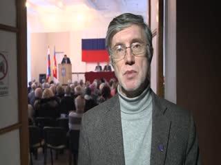 Глава городского поселения Монино М. Зубков отчита