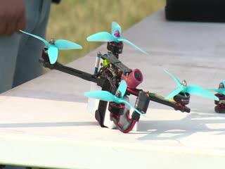 Этап Всероссийской лиги гонок дронов РДР в Музее В