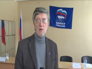 И.Жуков и В.Шапкин ответили на вопросы жителей в Монино